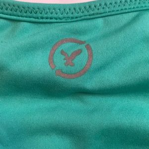 American Eagle Outfitters Tops - American Eagle 🦅 teal workout tank size XS